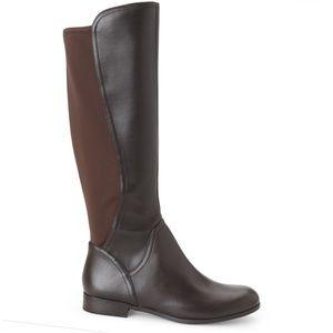 NEW Franco Sarto Maleni Leather Riding Boots